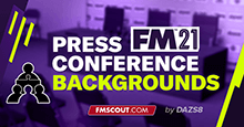 Press Conference Backgrounds for Football Manager 2021