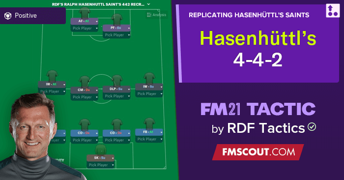 Football Manager 2021 Tactics - Ralph Hasenhuttl's Electrifying 4-4-2