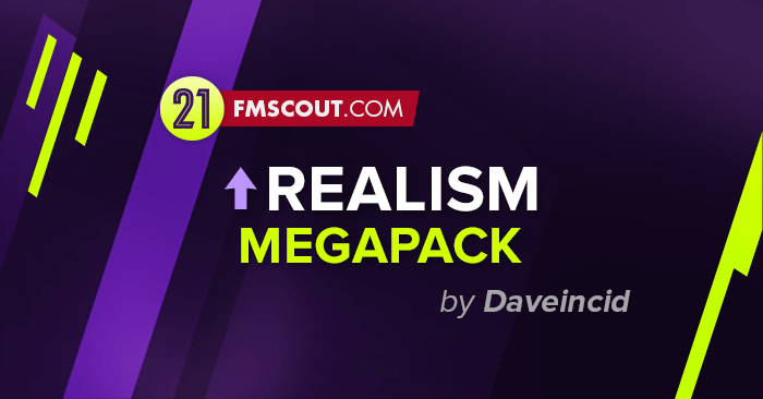 Football Manager 2021 Data Updates - FM21 Increase Realism Megapack by Daveincid FINAL VERSION (Update 26.03.21)