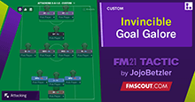 Invincible Goal Galore: 3-4-1-2