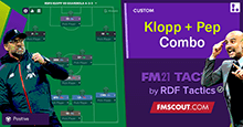 Klopp + Guardiola 4-3-3 Combo Tactic by RDF