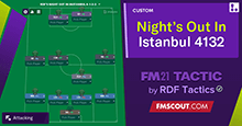 61 Goals Between 2 Strikers! Istanbul 4-1-3-2 by RDF
