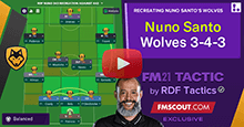 Nuno's Wolves 3-4-3 by RDF
