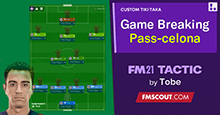 PASS-CELONA 4-2-3-1 | The Game Breaking Tiki-Taka Tactic