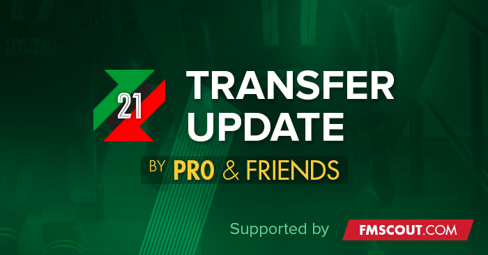 Football Manager 2021 Data Updates - FM21 Transfers & Data Update Packs by pr0 + FMTU