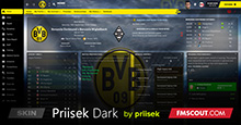 Priisek Dark FM21 Skin inc. TOUCH Pro Version Updated 07.30am 21.04.21