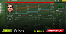 Priisek Natural Green Pitch Background FM21 Skin inc. TOUCH
