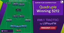 Quadruple Winning 5-2-1-2 by LSPlaysFM