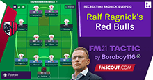 The Professor Ralf Rangnick's Red Bulls - 4-2-2-2.