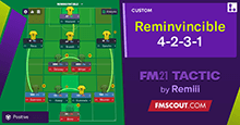 FM21 Tactic: Reminvincible 4231
