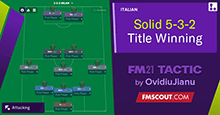 Solid 5-3-2 // Title Winning Tactic