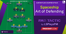 5-2-2-1 Spaceship / The Art Of Defending by LSPlaysFM