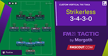 Strikerless 3-4-3-0 // Rest when you are dead