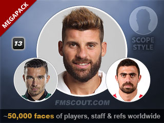 Scope Faces Megapack for FM13