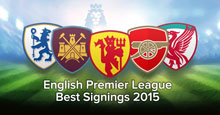 The best signings in 2015 in the English Premier League