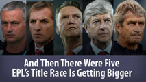 And Then There Were Five: The Premier League's Title Race Is Getting Bigger