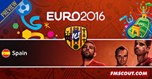 Euro 2016 Spain Preview
