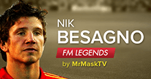 Nik Besagno - Football Manager Legend
