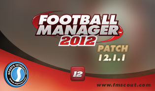 Football Manager 2012 Patch 12.1.1