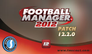 Football Manager 2012 Patch 12.2.0