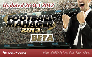 FM13 Beta Update out now!
