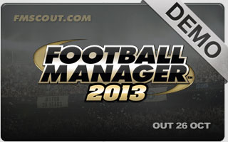 Football Manager 2013 Demo Now Available