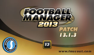 Football Manager 2013 Patch 13.1.3