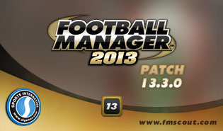 Football Manager 2013 Patch 13.3.0 - January Transfer Data Update