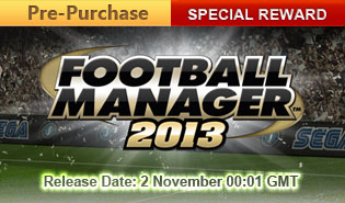 FM13 Release Date and Pre-Purchase Special Reward
