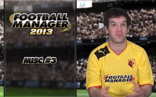 Football Manager 2013 Video Blogs