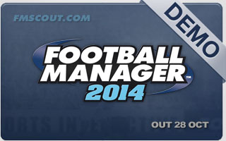Football Manager 2014 Demo Now Available