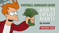 How to exploit agents to make easy money on Football Manager 2014