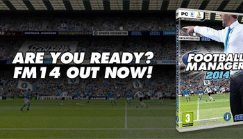 Football Manager 2014 Now Released