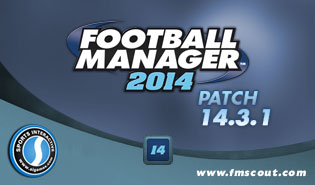 Football Manager 2014 Patch 14.3.1