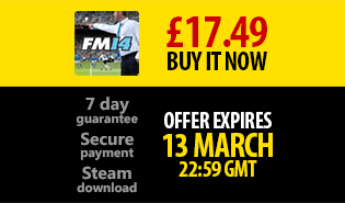 March Sale - FM14 for £17.49 or less