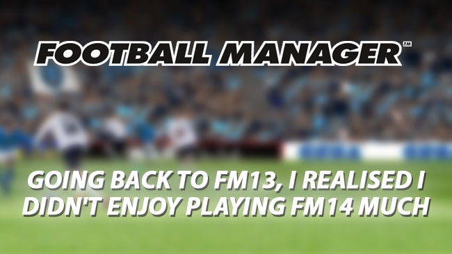 FM Concerns - Thoughts on FM14 by Shrew
