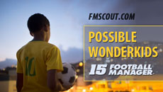 Football Manager 2015 Possible Wonderkids
