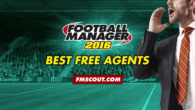 FM 2016 Best Players - Football Manager 2016 Best Free Agents