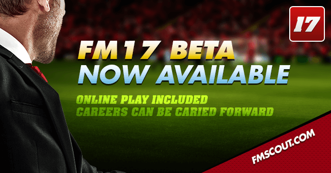 News - FM17 Beta now available