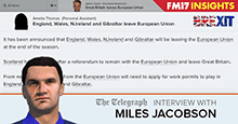 Miles Jacobson: Brexit is simulated in FM17