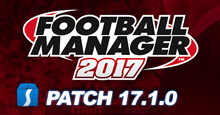 Football Manager 2017 Patch 17.1.0 - Update for Beta