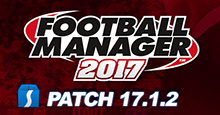 Football Manager 2017 Patch 17.1.2