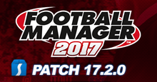 Football Manager 2017 Patch 17.2.0 - Hotfix