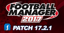 Football Manager 2017 Patch 17.2.1 - Hotfix