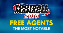 Football Manager 2018 Best Free Agents