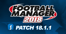 Football Manager 2018 Patch 18.1.1