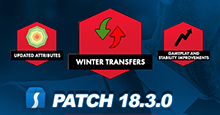 Football Manager 2018 Patch 18.3.0 - January Transfer Data Update