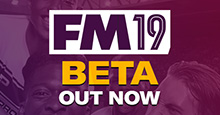 FM19 Beta now available