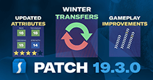 Football Manager 2019 Patch 19.3.0 - January Transfer Data Update