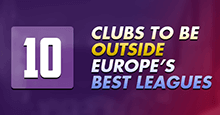 Top 10 Clubs to be outside of Europe's best leagues on FM19